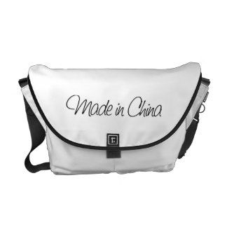 Ironic Made in China Messenger Bag