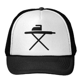 Ironing board mesh hats