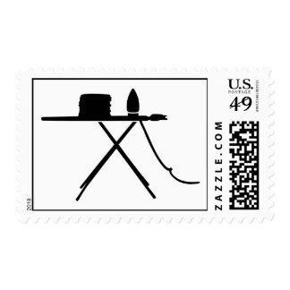 Ironing board postage stamps
