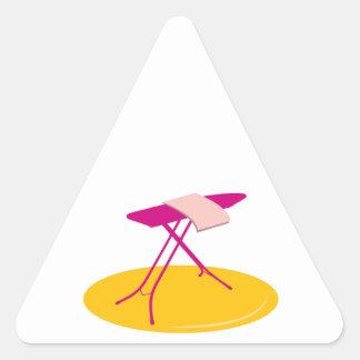 Ironing Board Triangle Stickers