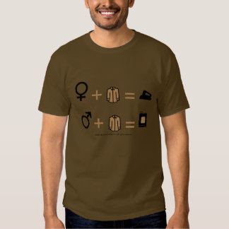 IRONING THINGS OUT TEE SHIRT