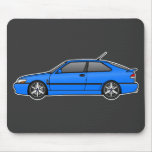 ironjoe's viggen with double 3 spokes! mouse pad