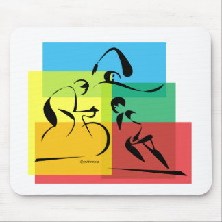 Ironman Abstract 4 Mouse Pad