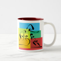 Ironman Abstract 4 Mug