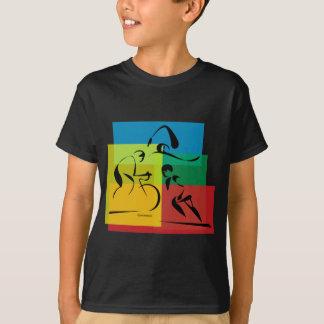Ironman Abstract 4 T-Shirt