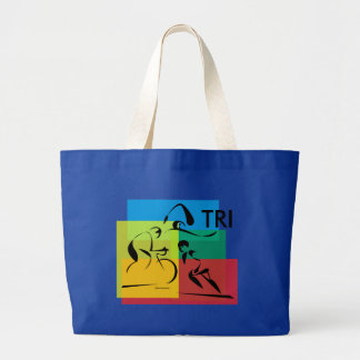 Ironman Abstract 4 Tote Bags