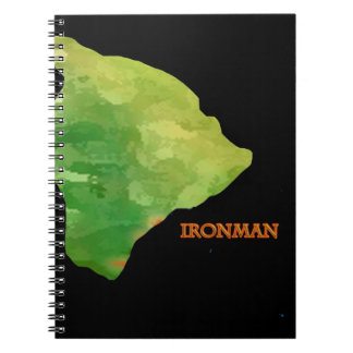 Ironman Big Island Logo Spiral Notebook