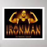 Ironman Fitness Gear Poster