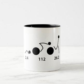 ironman triathlete mug