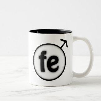 ironman Two-Tone coffee mug