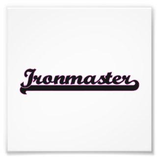 Ironmaster Classic Job Design Photo Print