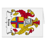 Irons Family Crest Greeting Card