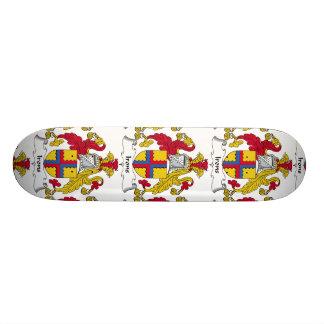 Irons Family Crest Skateboard