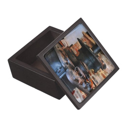 Irons Heating On Stove Premium Jewelry Boxes
