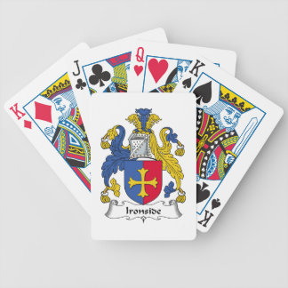 Ironside Family Crest Bicycle Playing Cards