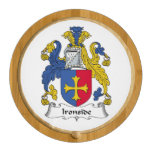 Ironside Family Crest Round Cheeseboard