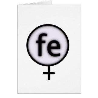 ironwoman tarjeta de felicitación
