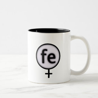 ironwoman Two-Tone coffee mug