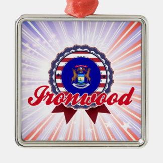 Ironwood, MI Adornos De Navidad