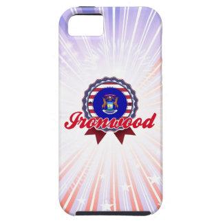 Ironwood, MI iPhone 5 Case-Mate Funda