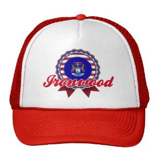 Ironwood, MI Mesh Hat