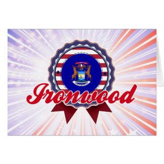 Ironwood, MI Felicitacion