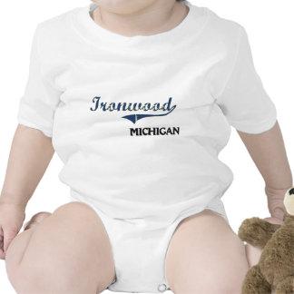 Ironwood Michigan City Classic Baby Creeper