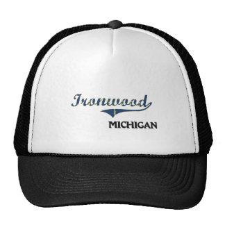 Ironwood Michigan City Classic Trucker Hat