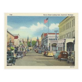 Ironwood Michigan Postales