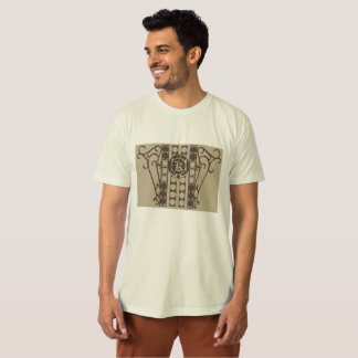 IRONWORK SCROLLWORK 2 Men's American Apparel Organ T-Shirt