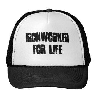 Ironworker for life trucker hat