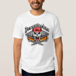 Ironworker Skull 2.1 and Flaming Spud Wrenches Shirt