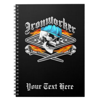 Ironworker Skull and Spud Wrenches Note Books