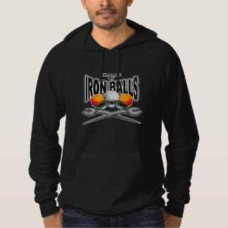 Ironworker Skulls: Iron Balls Hoodie