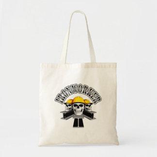 Ironworker Skulls Tote Bag