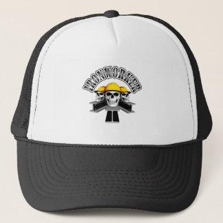 Ironworker Skulls Trucker Hat