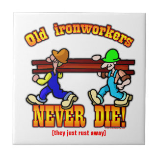 Ironworkers Ceramic Tile