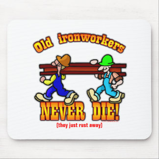 Ironworkers Mouse Pad