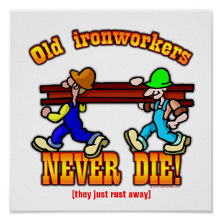 Ironworkers Poster