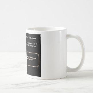 Irony Classic White Coffee Mug