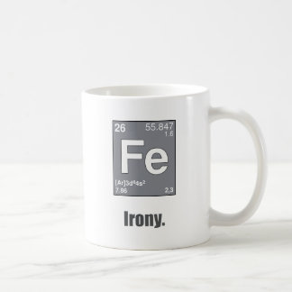 Irony Coffee Mug