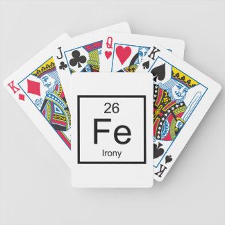 Irony Element Bicycle Playing Cards