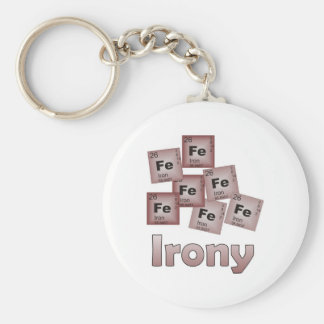 Irony Keychains