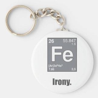 Irony Keychain