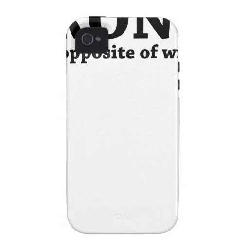 Irony opposite of wrinkly funny t-shirt.png iPhone 4 cover