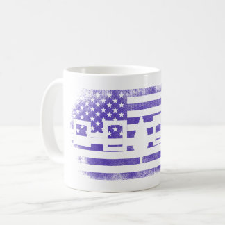 Iroquois American Flag   Iroquois and USA Design Coffee Mug