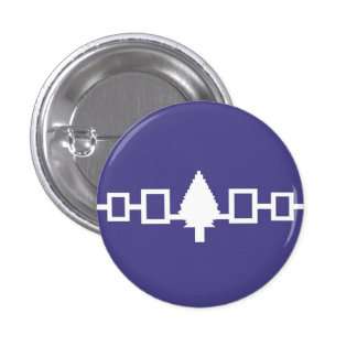 Iroquois Confederacy Flag Pin