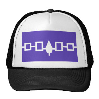 Iroquois Confederacy flag Hats
