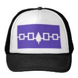 Iroquois Confederacy flag Hats