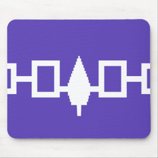 Iroquois Confederacy flag Mouse Pads